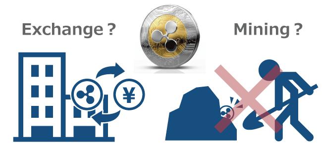 仮想通貨リップルの入手方法┃マイニングは可能?