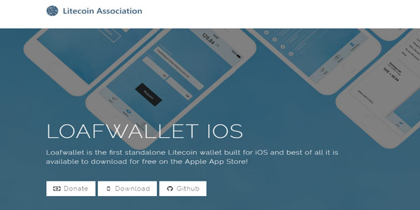 iOS対応のモバイルウォレット┃LoafWallet