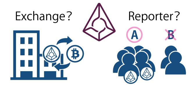 仮想通貨オーガ(augur)の入手方法は取引所での購入とレポーター