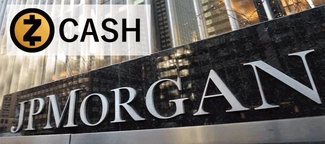 JPモルガンがジーキャッシュ(Zcash)との提携を発表