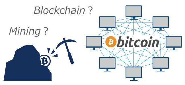 仮想通貨ビットコイン┃ブロックチェーンやマイニングについて