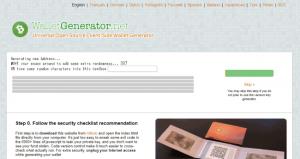 仮想通貨ビットコインキャッシュ(BCH)┃ペーパーウォレット「BitcoinCash Paper Wallet Generator」